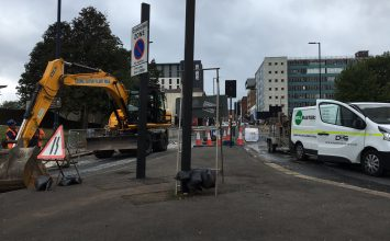 Holloway Circus Utility Works – Motorists advised to follow diversion signs and to allow more time for their journey.