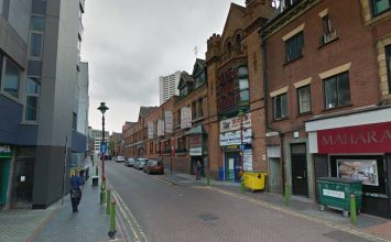 Investigation underway after a man was shot in the city centre.
