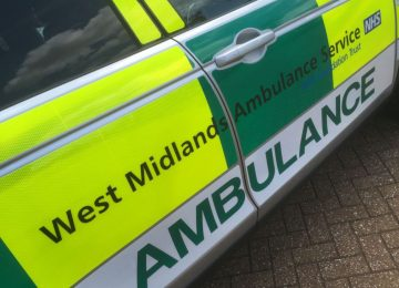 Man suffers serious injuries following a collision on Walsall Road.