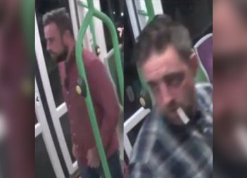 British Transport Police need help to identify two men after a fight at Jewellery Quarter railway station.