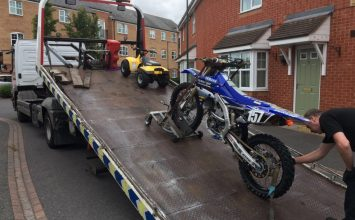 Off-road bikes seized in a further phase of hard-hitting crackdowns on dangerous riders.
