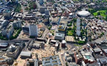 Stunning new images show how the city centre is changing day by day.