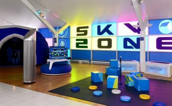 Birmingham Airport launches newly designed and interactive children's pre-flight play areas.
