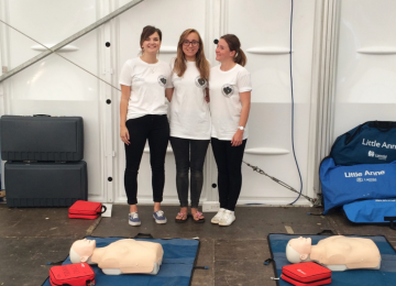 University of Birmingham students to deliver CPR training at V Festival.