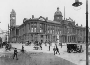 Victoria Square from around a hundred years ago.