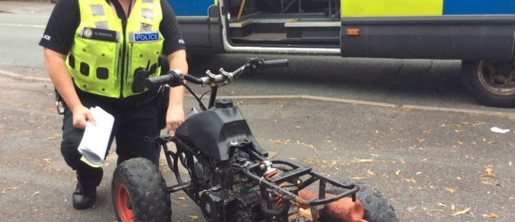 More off-road bikes seized as part of a hard-hitting crackdown on dangerous riders.