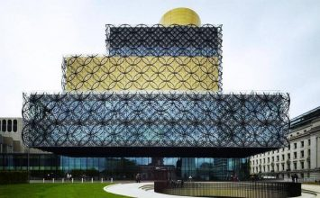 Brasshouse students start classes at the Library of Birmingham.