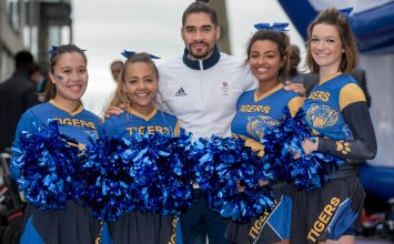 Double Olympic medallist Louis Smith Louis Smith MBE launches BCU's new Sports and Life Sciences courses.