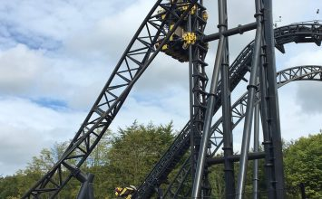 Alton Towers Smiler ride stopped after debris fell from a carriage.