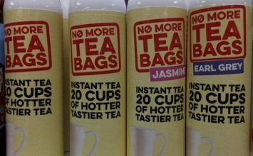 Coming to a shop near you … Squirty Tea.