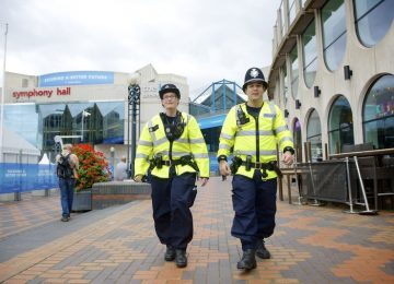 Security plans in place ahead of Conservative Party Conference in the City Centre.