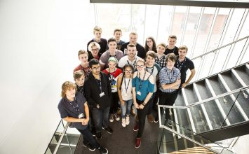 Talented young people begin Broadcast and Communications Engineering course funded by the BBC