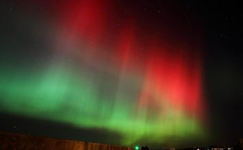 Aurora Borealis (aka Northern Lights) could be visible across the UK tonight.
