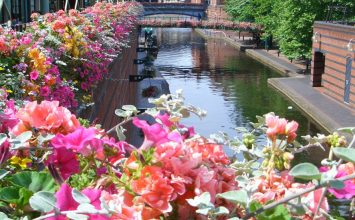 Birmingham wins a gold award at this year's RHS Britain in Bloom ceremony.