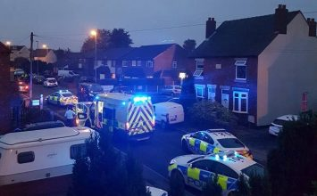 Man arrested after two people were stabbed in Brownhills.