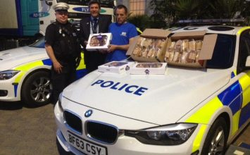 West Midlands Police donate food to Birmingham homeless charity
