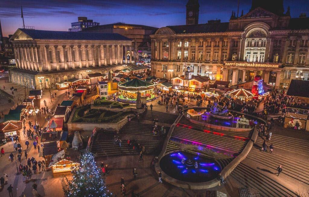 birminghams internationally renowned christmas markets - Birmingham Christmas Market