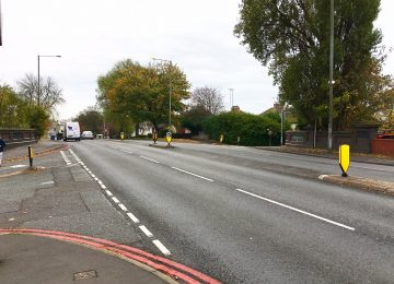 £100,000 plan to reduce accidents and improve safety for pedestrians on Wolverhampton Road.