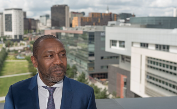 "Sir Lenny Henry stresses ""education is a right, not an accident of birth"" as he takes on Chancellor role at BCU"