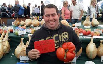 Wednesbury gardener grows UK record-breaking tomato