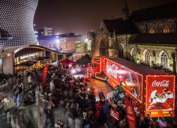 The Coca-Cola Christmas truck is coming to town on Saturday 17th December.