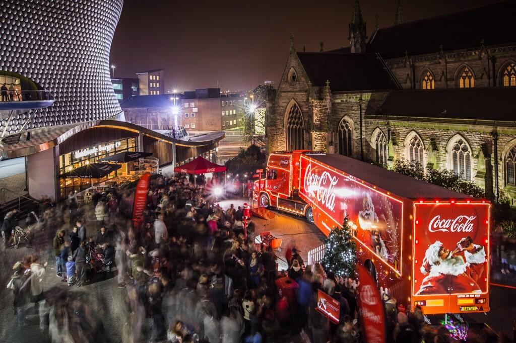 Coca Cola Christmas.The Coca Cola Christmas Truck Is Coming To Town On Saturday