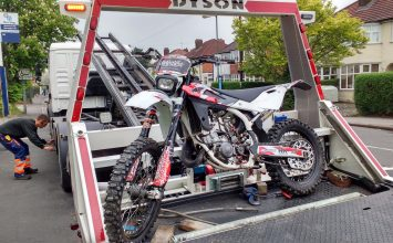Clampdown on biker louts continues – more than 20 people arrested and bikes seized.