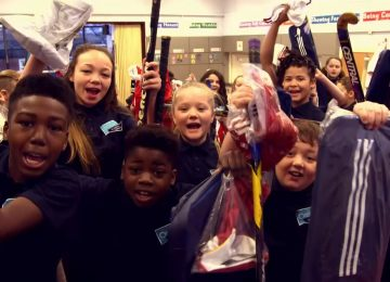 Christmas comes early for schools across Birmingham thanks to BBC Reclaim Sport