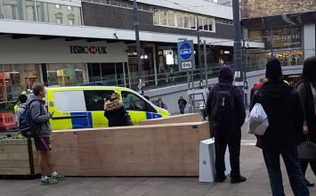 Apple Store on New Street evacuated after a suspicious package was handed in