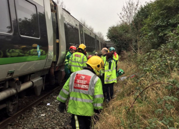 Man in a critical condition after being struck by a train in Acocks Green.