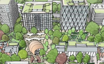 Calthorpe Estates submits plans for new garden square on Hagley Road.
