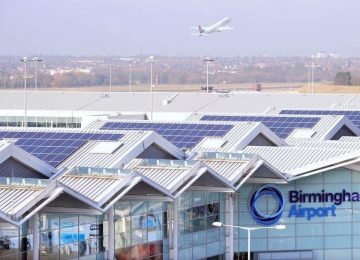 Birmingham Airport celebrates a record breaking year – 11.6 million passengers in 2016.
