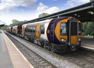 New look for local trains unveiled by West Midlands Rail.