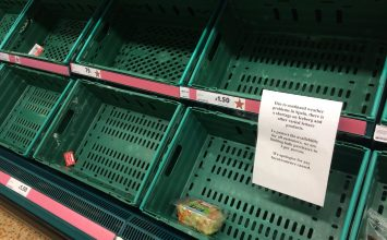 Supermarkets are rationing vegetables after bad weather hits Europe.