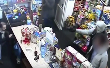 Appeal launched after a Walsall shopkeeper fights off gunman