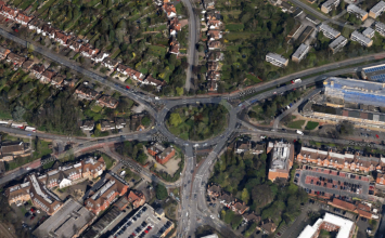 Major roadworks to start on Solihull roundabout.