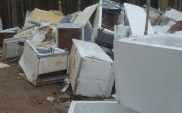 More than 100 fridges dumped in Kings Norton.