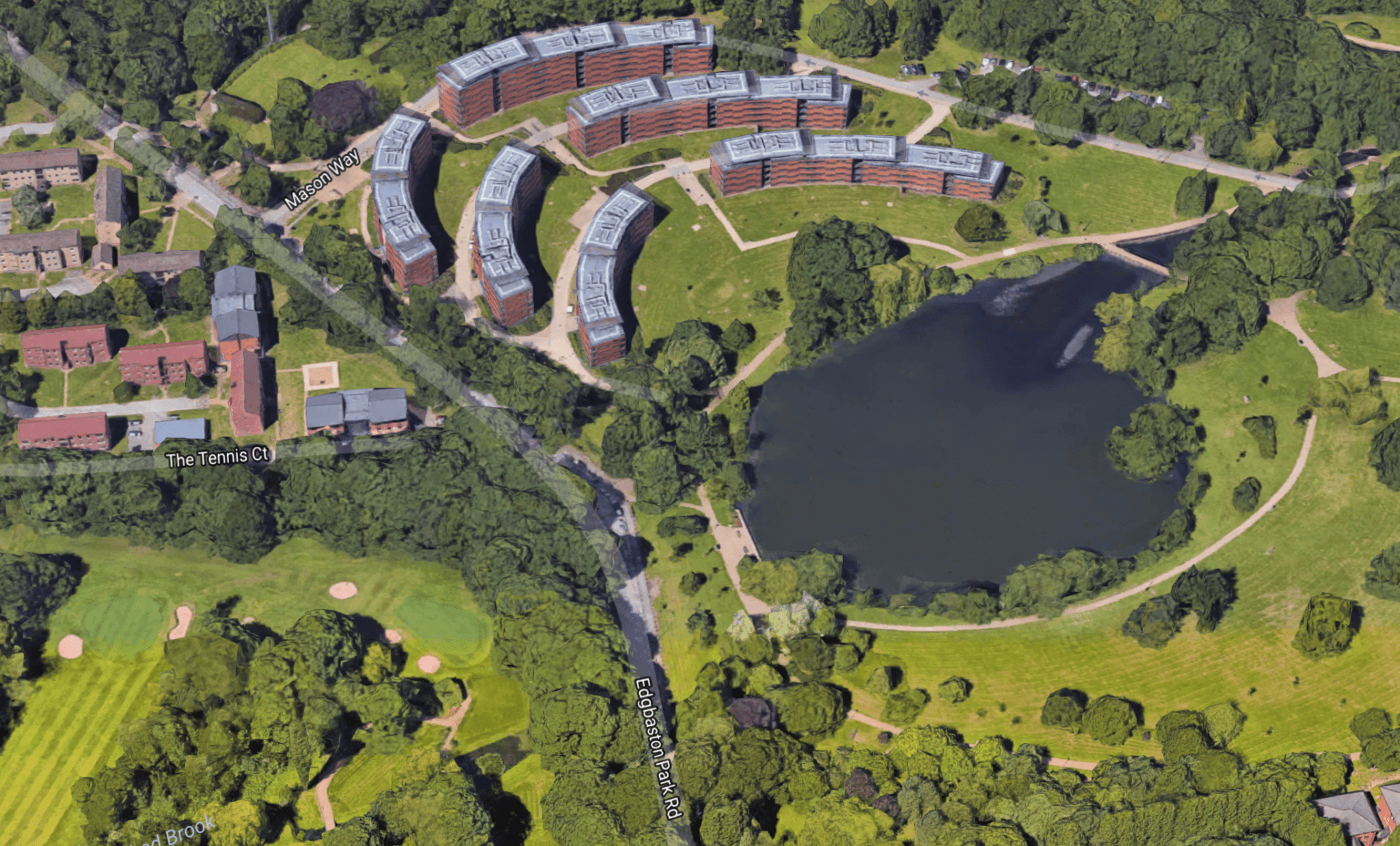 Missing man found dead in lake on University of Birmingham campus ...