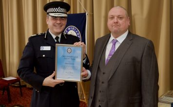 Birmingham city council refuse worker receives Good Citizen's Award after helping a woman in distress.