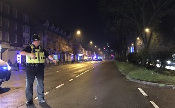 Police confirm that the operation on Hagley Road was in response to the terror attack at Westminster.