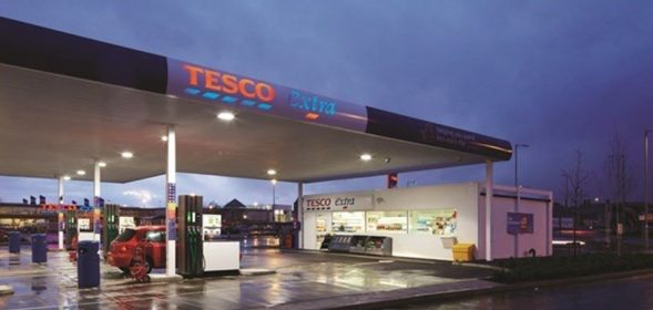 Tesco is to cut the cost of petrol and diesel by two pence per litre 