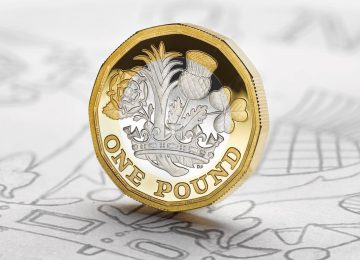 New 12-sided pound coin officially enters circulation.