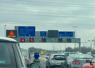 Man sadly dies following a collision on M42 in Coventry