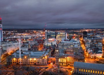 Spectacular images released of Birmingham's changing skyline