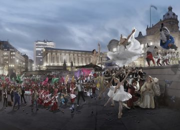 Arts Council England to invest £5 million to develop a Dance Hub in the city.