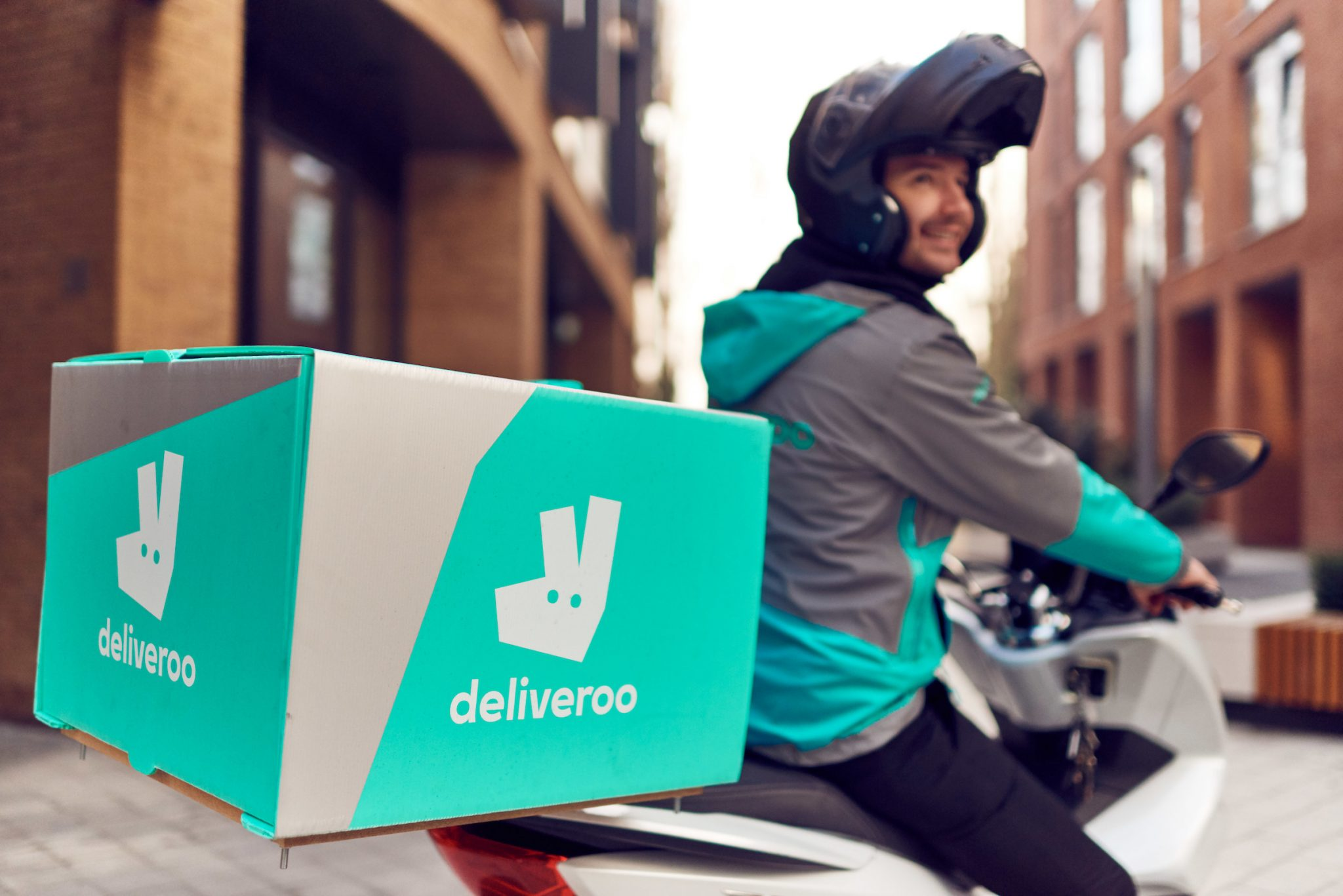 Deliveroo, the on-demand food delivery service, launches ...