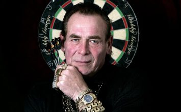Challenge the legendary Bobby George to a game of darts at Shooters bar.