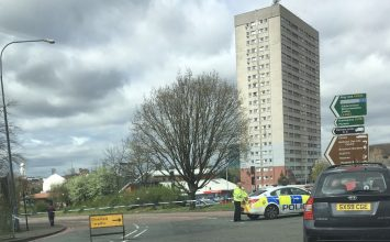 Two teenagers injured following a collision near Belgrave Middleway.