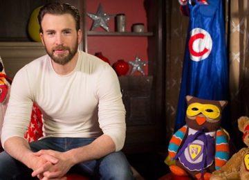 Actor Chris Evans to read superhero bedtime story on CBeebies