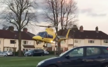 Motorcyclist airlifted to a major trauma centre following a collision in Yardley Wood